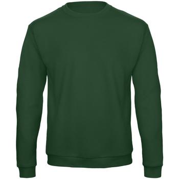 Textiel Sweaters / Sweatshirts B And C ID. 202 Fles groen