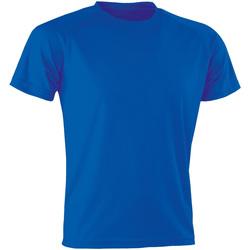 Textiel T-shirts korte mouwen Spiro Aircool Koninklijk