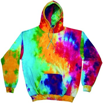 Textiel Heren Sweaters / Sweatshirts Colortone Pullover Multi-Regenboog