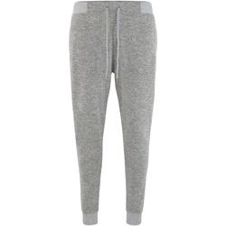 Textiel Trainingsbroeken Comfy Co Slim Fit Heide Grijs
