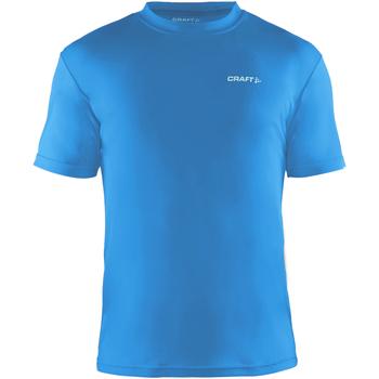 Textiel Heren T-shirts korte mouwen Craft Wicking Zweeds Blauw