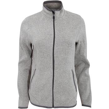 Textiel Dames Trainings jassen Tee Jays Aspen Grijze Melange