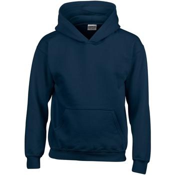 Textiel Kinderen Sweaters / Sweatshirts Gildan Hooded Marine