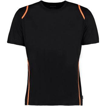 Textiel Heren T-shirts korte mouwen Gamegear Cooltex Zwart/Fluorescerend Oranje