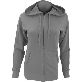 Textiel Dames Sweaters / Sweatshirts Fruit Of The Loom Lightweight Licht Graphite