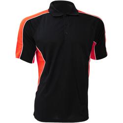 Textiel Heren Overhemden korte mouwen Gamegear Active Zwart/Rood