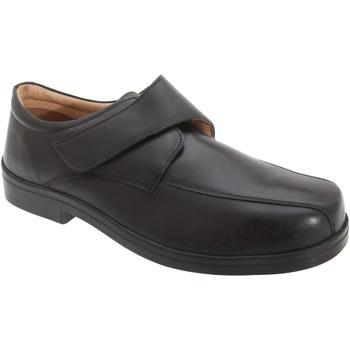 Schoenen Heren Mocassins Roamers Casual Zwart