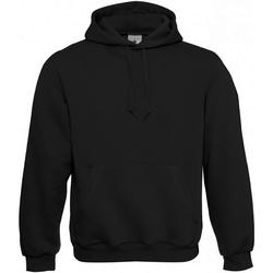 Textiel Heren Sweaters / Sweatshirts B And C Hooded Zwart