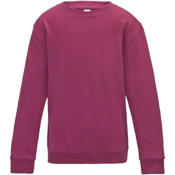 Textiel Kinderen Sweaters / Sweatshirts Awdis JH30J Heet Roze