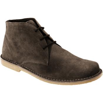 Schoenen Heren Laarzen Roamers Desert Donkerbruin