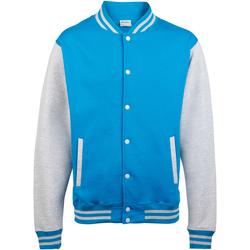 Textiel Kinderen Wind jackets Awdis Varsity Blauw