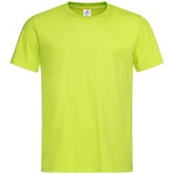 Textiel Heren T-shirts korte mouwen Stedman Classics Citroen Geel