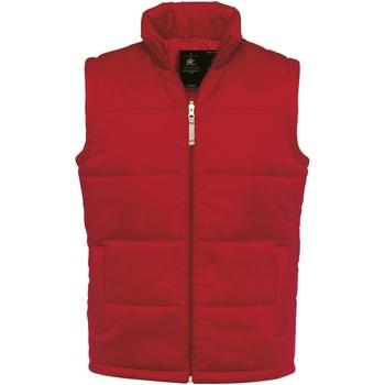 Textiel Heren Vesten / Cardigans B And C JM930 Rood