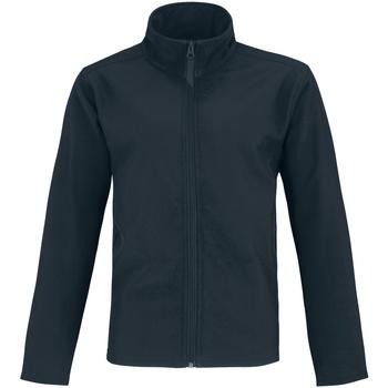 Textiel Heren Leren jas / kunstleren jas B And C Two Layer Marine / Neon Groen