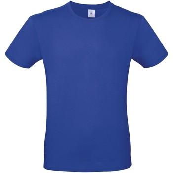 Textiel Heren T-shirts korte mouwen B And C E150 Kobaltblauw