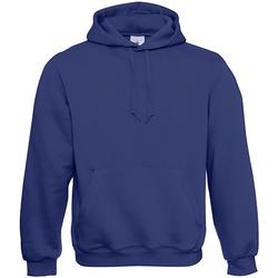 Textiel Heren Sweaters / Sweatshirts B And C Hooded Electric Blauw