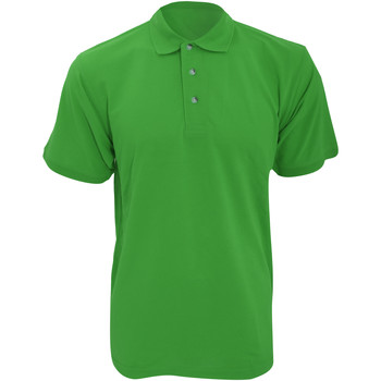 Textiel Heren Polo's korte mouwen Kustom Kit Work Iers Groen