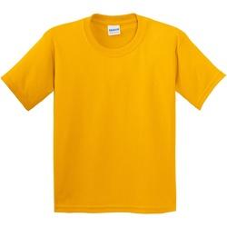 Textiel Kinderen T-shirts korte mouwen Gildan 5000B Goud