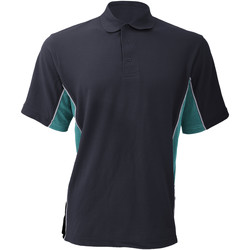 Textiel Heren Polo's korte mouwen Gamegear Pique Marine / Turkoois