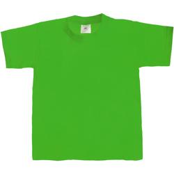 Textiel Kinderen T-shirts korte mouwen B And C Exact 190 Kelly Groen