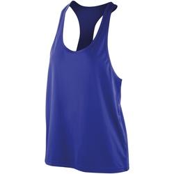 Textiel Dames Mouwloze tops Spiro SR285F Saffier