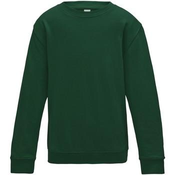Textiel Kinderen Sweaters / Sweatshirts Awdis JH30J Fles groen