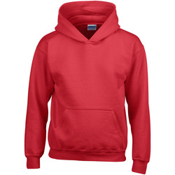 Textiel Kinderen Sweaters / Sweatshirts Gildan Hooded Rood
