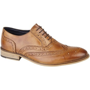 Schoenen Heren Klassiek Roamers Oxford Tan