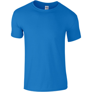 Textiel Kinderen T-shirts korte mouwen Gildan Soft Style Saphire