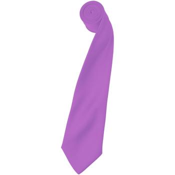 Textiel Heren Krawatte und Accessoires Premier Satin Lila
