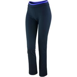 Textiel Dames Leggings Spiro S275F Zwart / Lavendel