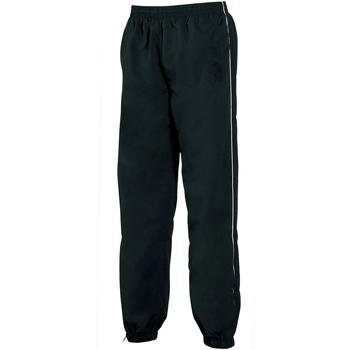 Textiel Heren Trainingsbroeken Tombo Teamsport Track Zwart/witte leidingen