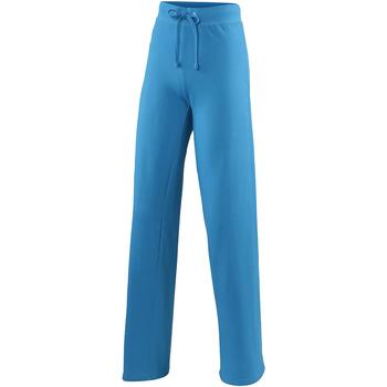Textiel Dames Trainingsbroeken Awdis Girlie Saffierblauw