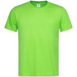 Textiel Heren T-shirts korte mouwen Stedman Classics Lichtgroen