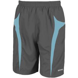 Textiel Heren Korte broeken / Bermuda's Spiro S184X Grijs/Aqua