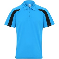 Textiel Heren Polo's korte mouwen Awdis JC043 Saffierblauw/jetzwart