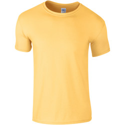 Textiel Kinderen T-shirts korte mouwen Gildan Soft Style Daisy