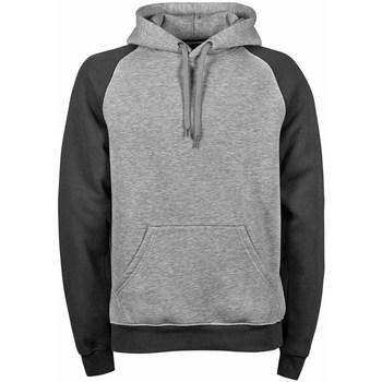 Textiel Heren Sweaters / Sweatshirts Tee Jays Hooded Heide Donkergrijs