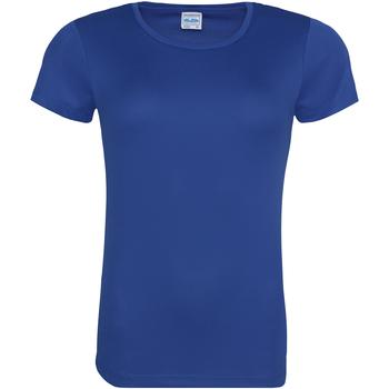 Textiel Dames T-shirts korte mouwen Just Cool JC005 Koningsblauw