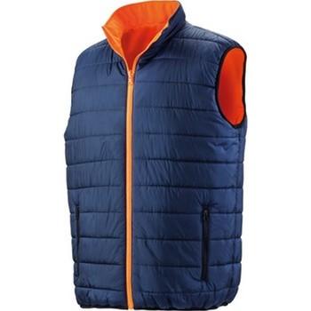 Textiel Heren Dons gevoerde jassen Result R332X Fluorescerend Oranje/Zwaar