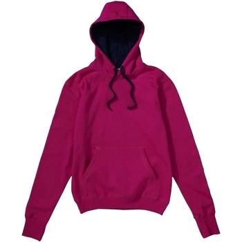 Textiel Heren Sweaters / Sweatshirts Sg Contrast Donkerroze/Zwaar