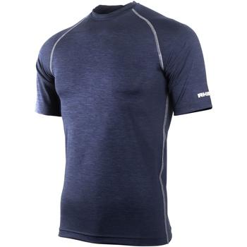 Textiel Heren T-shirts korte mouwen Rhino RH002 Marine Heide