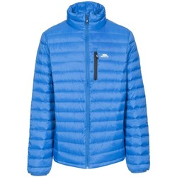Textiel Heren Dons gevoerde jassen Trespass Stellan Blauw