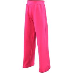 Textiel Meisjes Trainingsbroeken Awdis JH71J Heet Roze