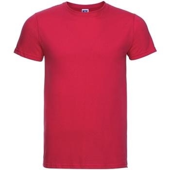 Textiel Heren T-shirts korte mouwen Russell R155M Klassiek rood