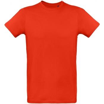Textiel Heren T-shirts korte mouwen B And C Inspire Rood