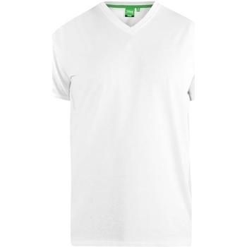 Textiel Heren T-shirts korte mouwen Duke Signature Wit