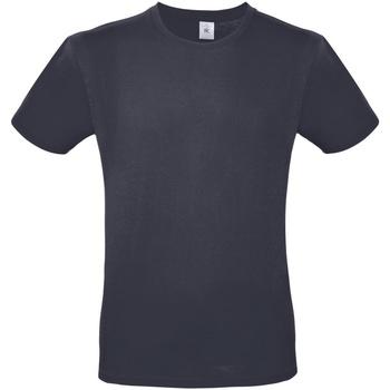 Textiel Heren T-shirts korte mouwen B And C E150 Lichte marine