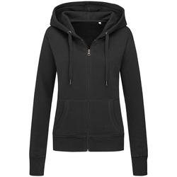 Textiel Dames Sweaters / Sweatshirts Stedman Active Zwart
