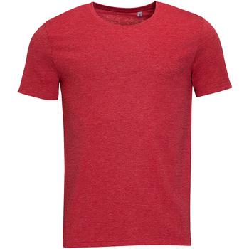 Textiel Heren T-shirts korte mouwen Sols 01182 Heide Rood